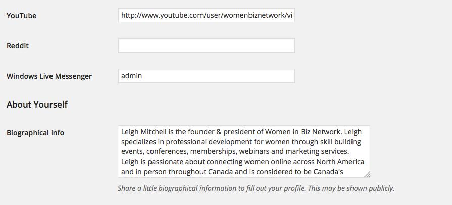 membership details 2