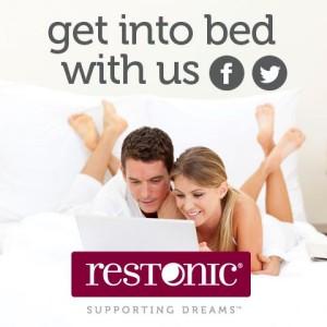 Restonic on social