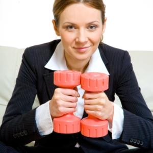 businesswoman_weights