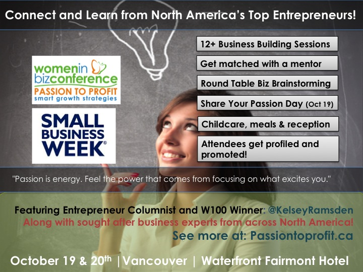 Bring Profit To Your Passion at the WIBN Conference 2014 - Early Bird Ends October 1st