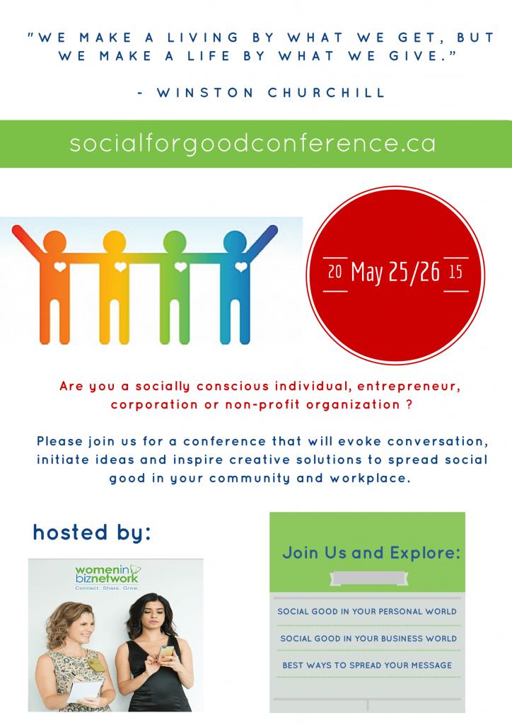 social for good conference toronto ontario