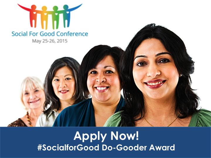 SocialforGood Award