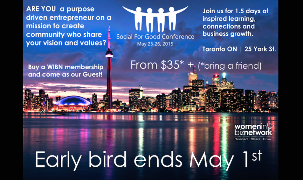 SocialforGoodConference NEW Ad