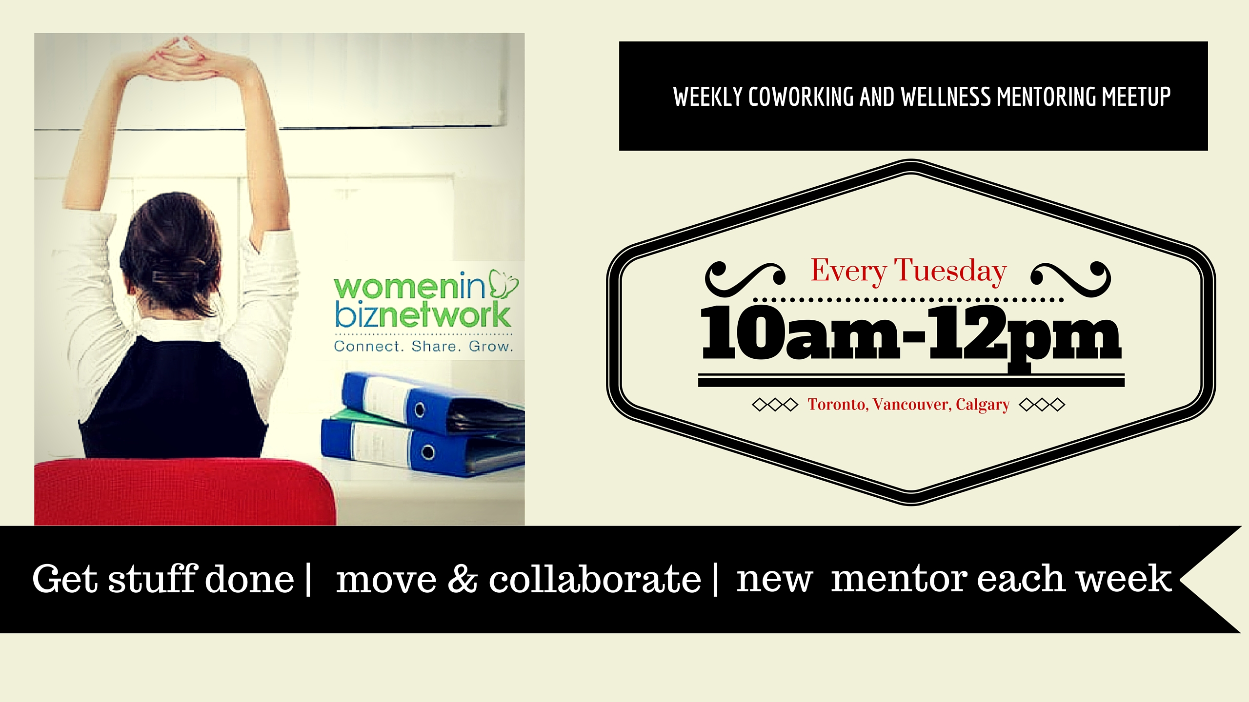 New! WIBN CoWorking and Wellness Meetup