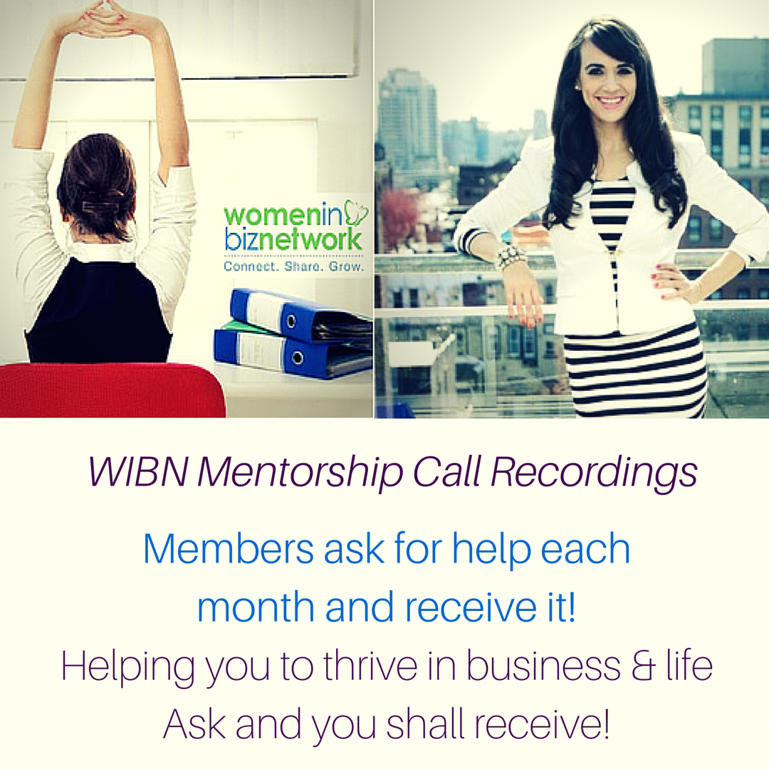 Wisdom Wednesday Mentoring call for WIBN Members (3)