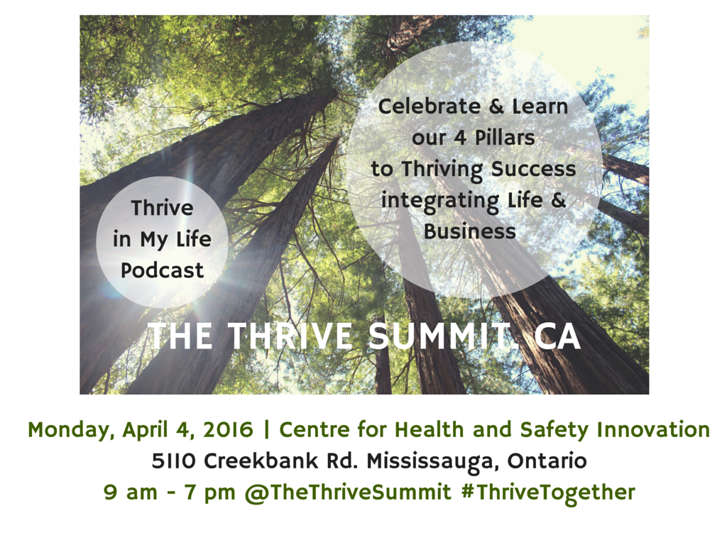 Register Now for the Thrive Summit Conference