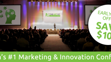 The Art of Marketing Conference Early Bird Ends Friday #Theartof