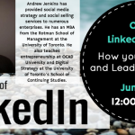 Online #Mentoring: June 3rd 12 pm EST How to Love and Lead with @LinkedIn #Workstory