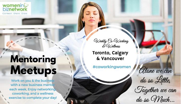 Mentoring Meetups for Women in Business