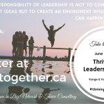Thrive and Lead Women in Biz Event June 9th in Toronto for Women in Biz Members