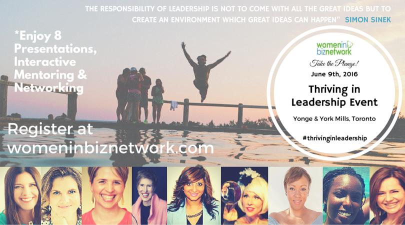 Thriving in Leadership