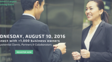 Attend #TheBash Summer Networking Conference August 10