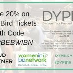 Attend Discover Your Personal Brand! Save with Women In Biz Network #DYPB16