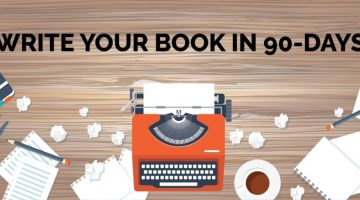 Write Your Book in 90 Days Course – Starts Oct. 1st with @publisher_ps