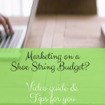 Marketing on a shoe string budget? Try these ideas with @msft_businessCA