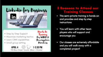 April 4: Linkedin for Business Hands-on Training in Toronto