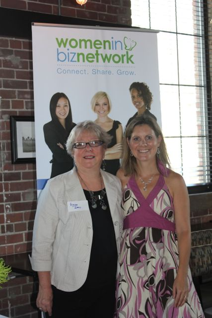 Leigh Mitchell, Women in Biz Network & Anne Day, Company of Women