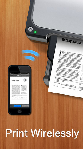 Print directly from your iDevice with Printer Pro