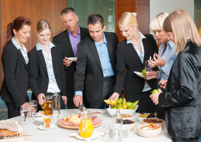 Make Your Lunch Meeting Healthy For You and Your Business!