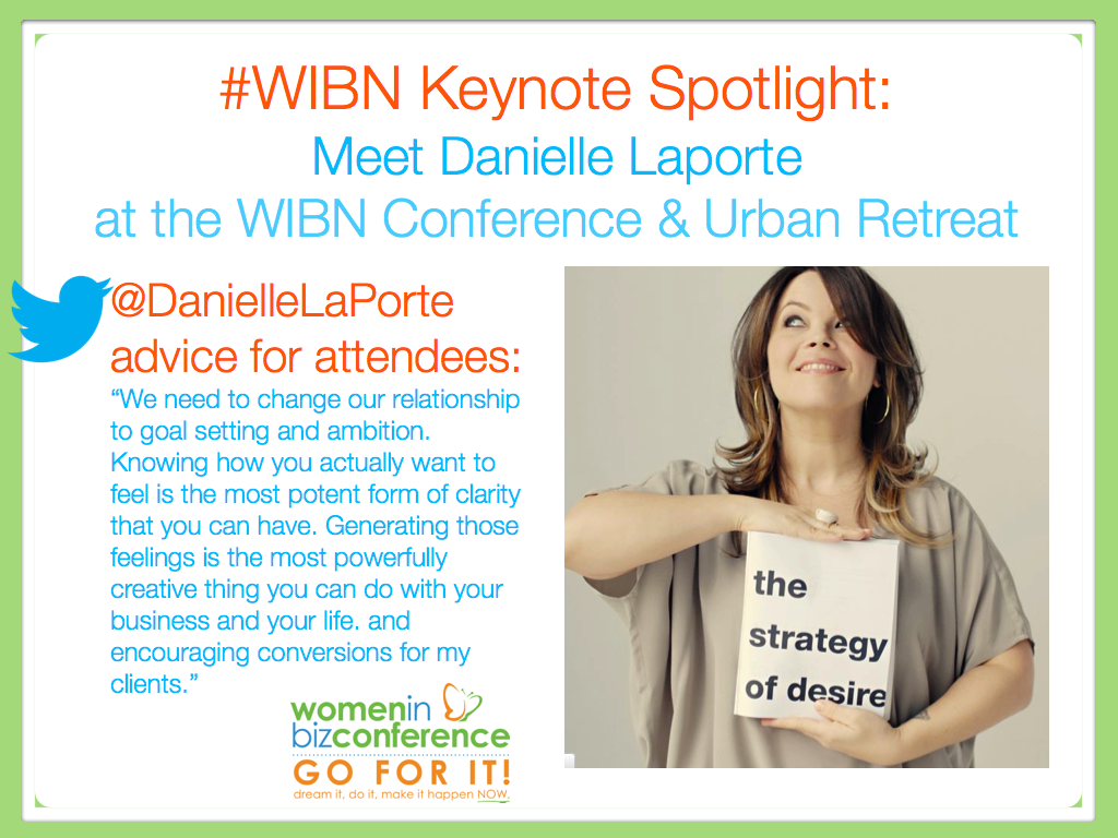 Live videocast with Danielle LaPorte Here for All To See