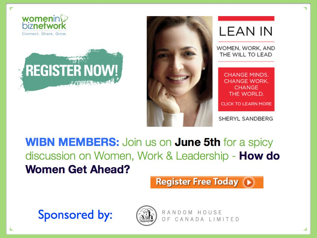 Join us on June 5th for a spicy discussion on Women, Work & Leadership – How do Women Get Ahead?