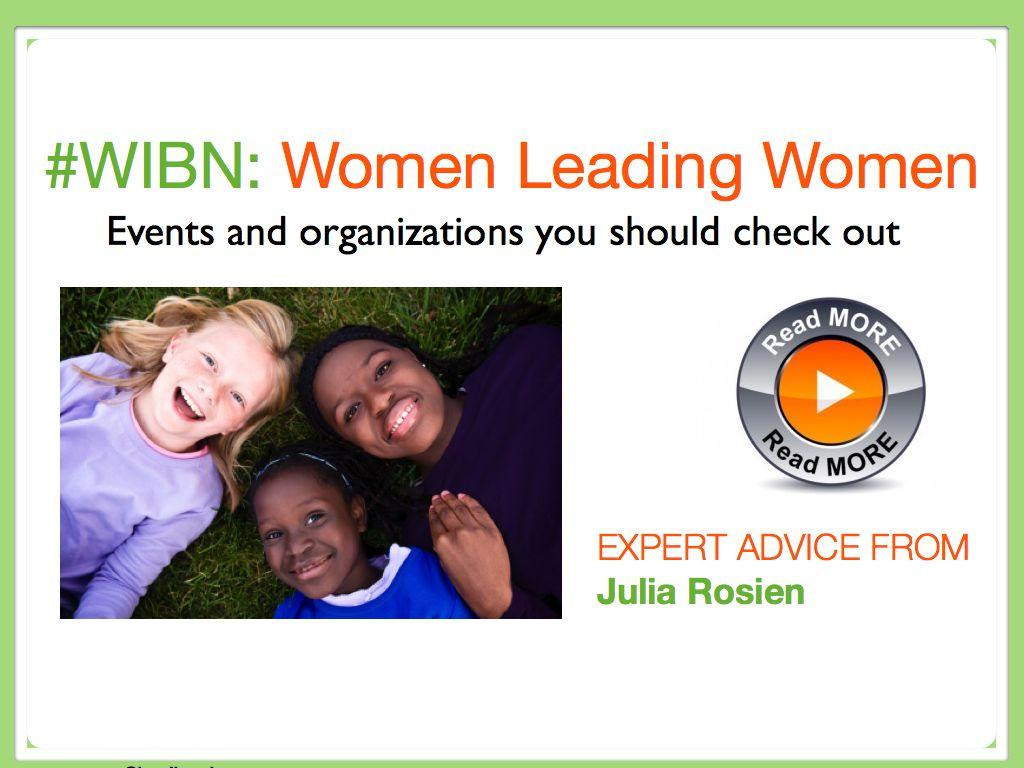 WIBN ~ Women Leading Women