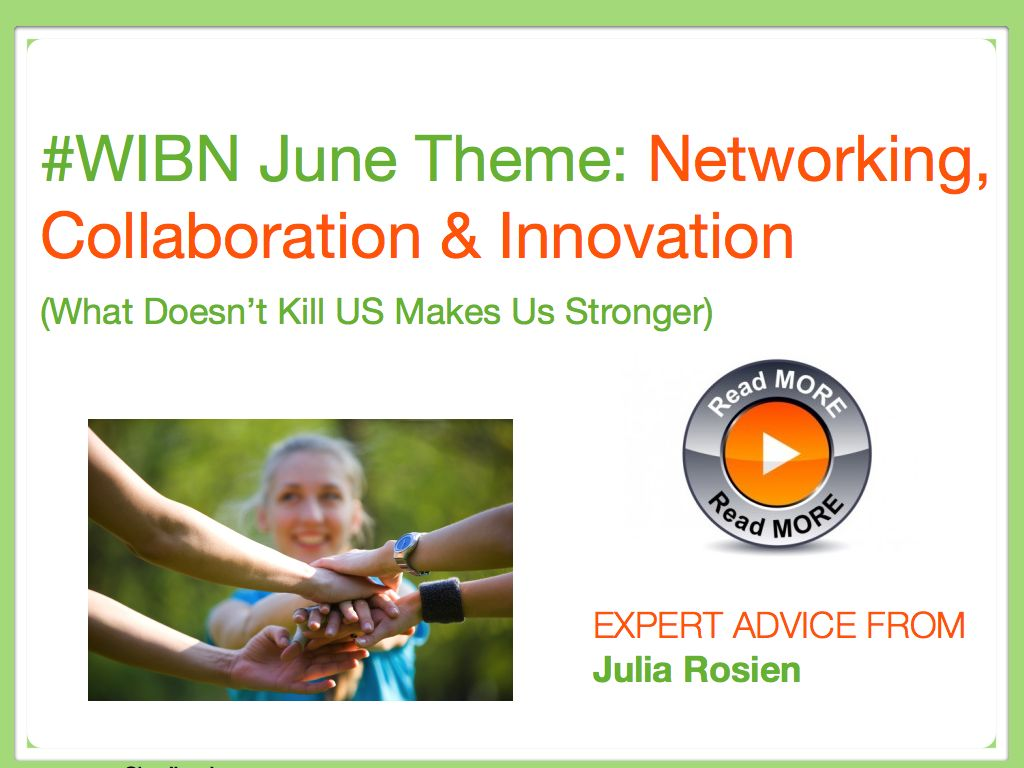 Networking, Collaboration & Innovation