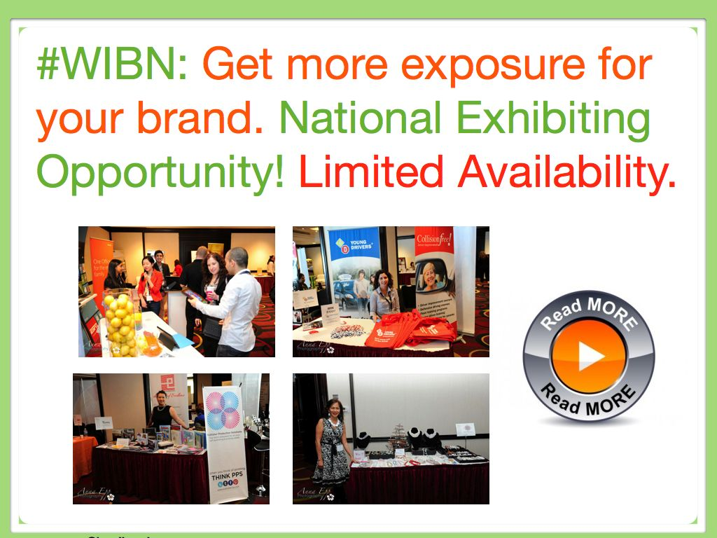 Showcase your Brilliance –  National Exposure at WIBN Conference at the Waterfront Vancouver Fairmont Hotel