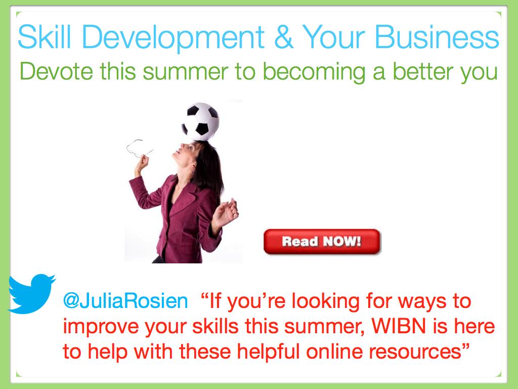 Skill Development & Your Business