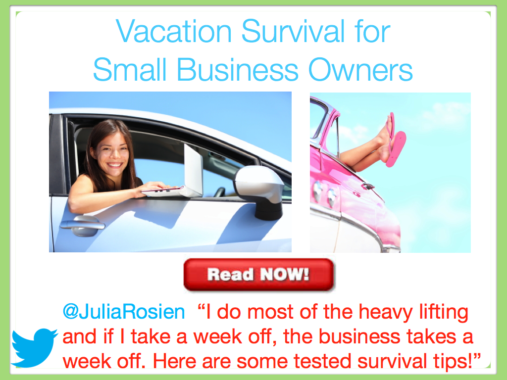 Vacation Survival for Small Business Owners