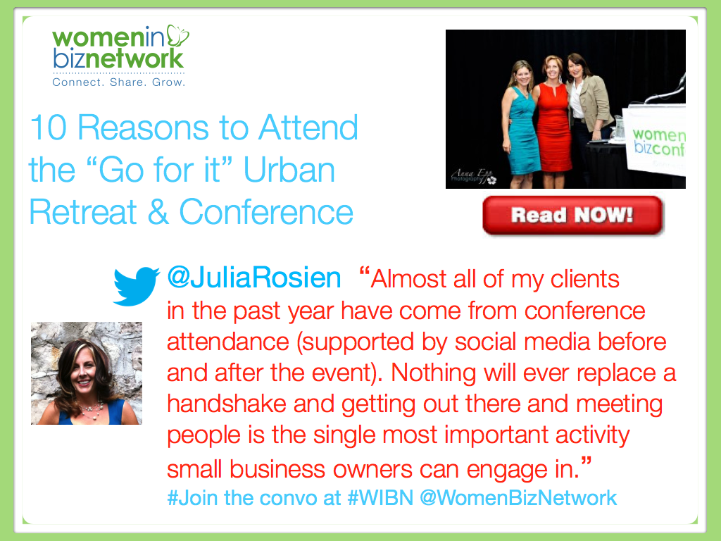 10 Reasons to Attend the Women in Business Vancouver Conference