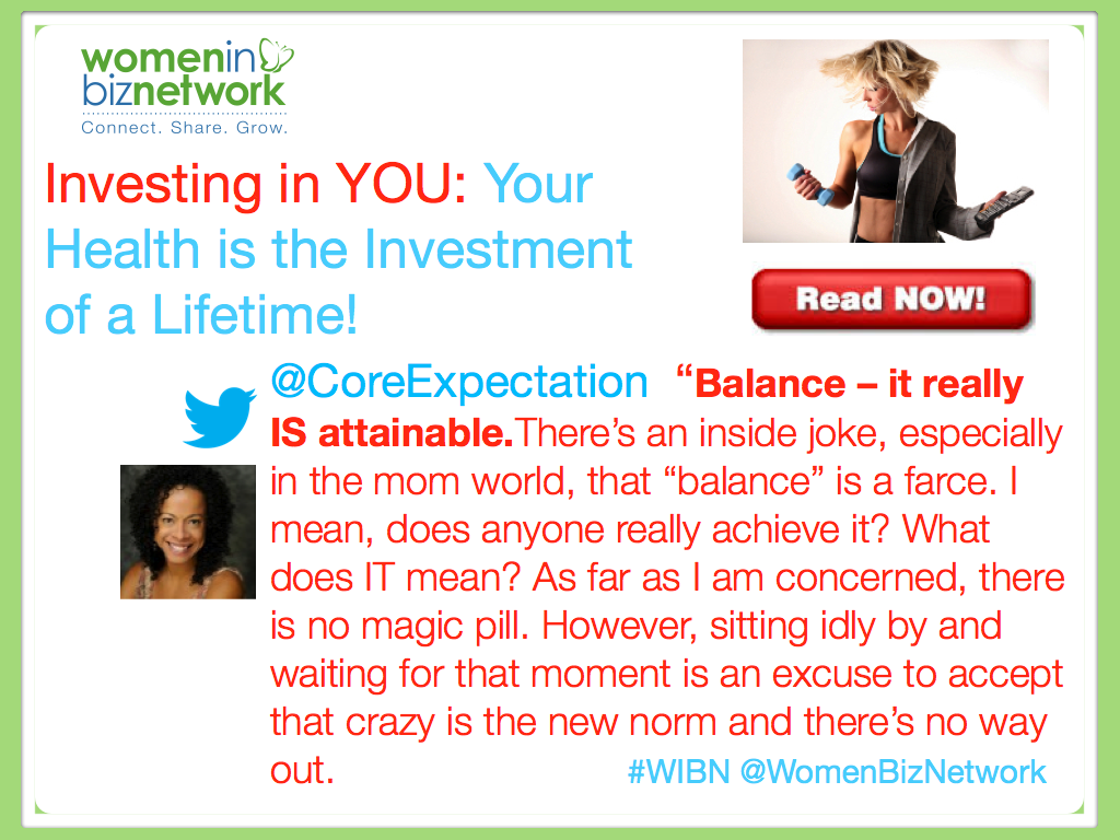 Investing in YOU: Your Health is the Investment of a Lifetime!