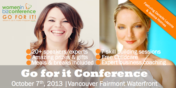 Have you registered yet? Only 20 Days til the Women in Biz Conference featuring Danielle LaPorte & Jessica Holmes