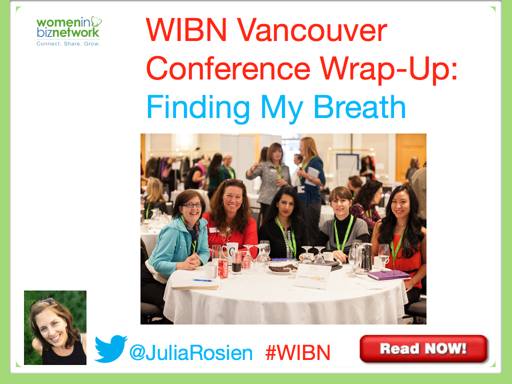 WIBN Vancouver Conference Wrap-Up