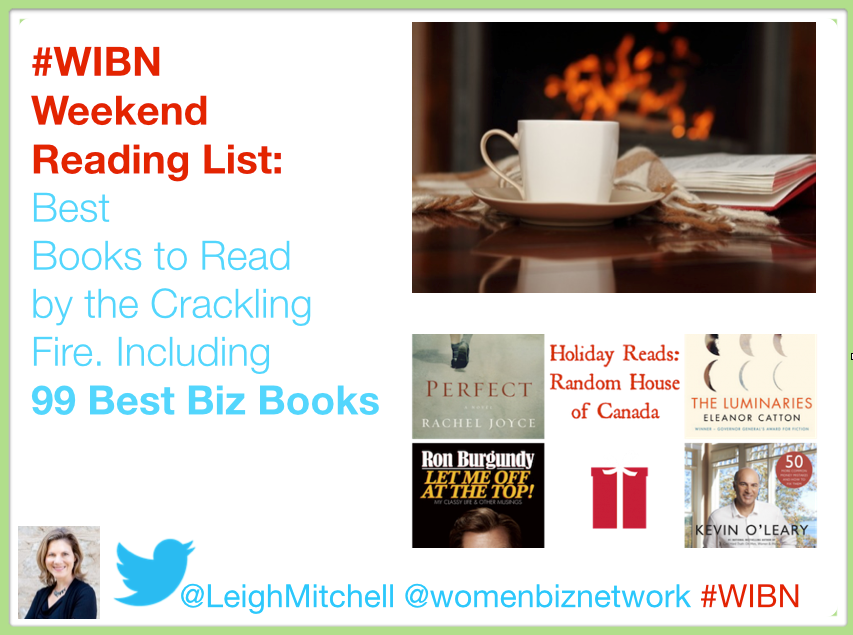 Weekend Reading List by the Fire – Fuel your Brain with These Helpful Books