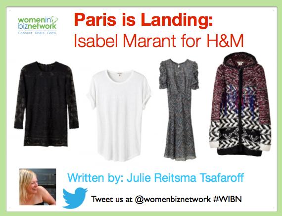 Paris is Landing—Isabel Marant for H&M