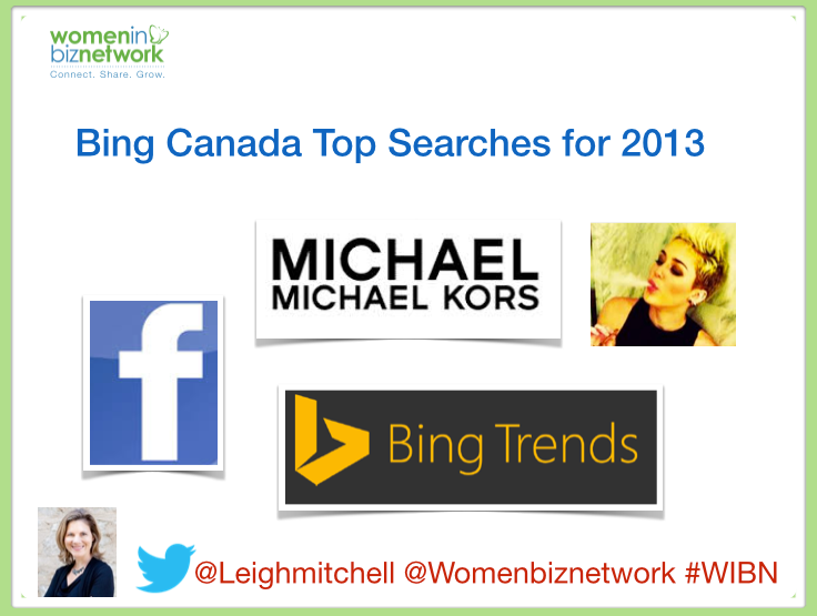 Canada's Top Bing Searches for 2013