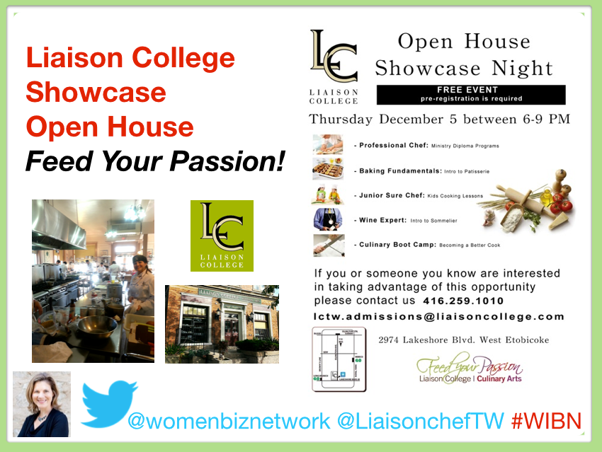 Liaison Cullinary College Open House – Feed Your Passion and Explore Possibilities!