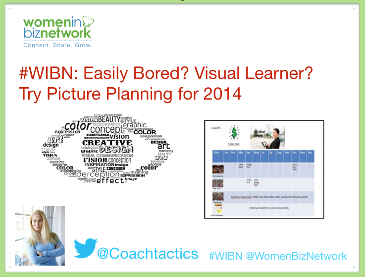 #WIBN: Easily Bored? Visual Learner? Try Picture Planning for 2014