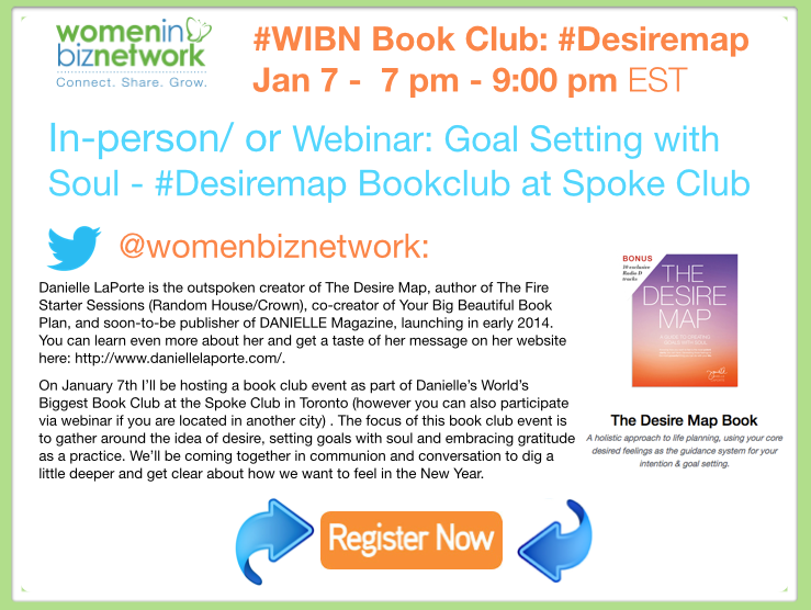 Free Event: World's Biggest Book Club Ever #Desiremap hits Toronto at the @TheSpokeClub