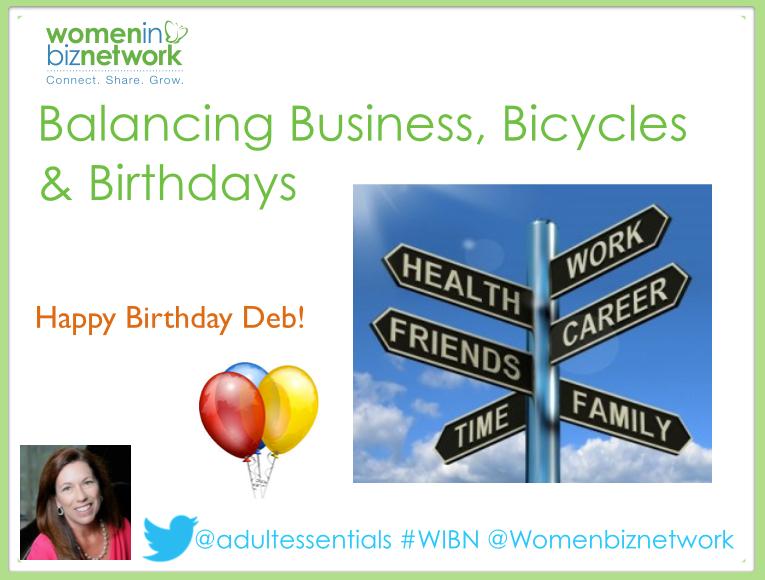 Balancing Business, Bicycles and Birthdays – Happy Birthday @kidsgummymum