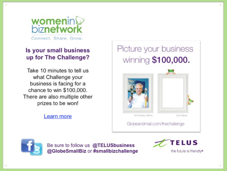 Last chance to Vote for @TelusBusiness @GlobeSmallBiz #SmallBizChallenge Finalists
