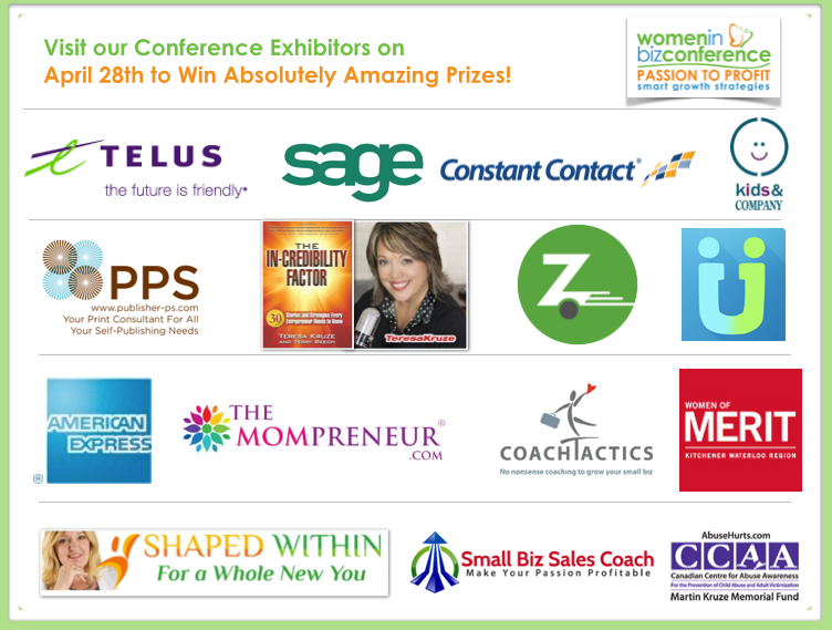 WIBN Conference Sponsors & Exhibitors April 28th, 2014