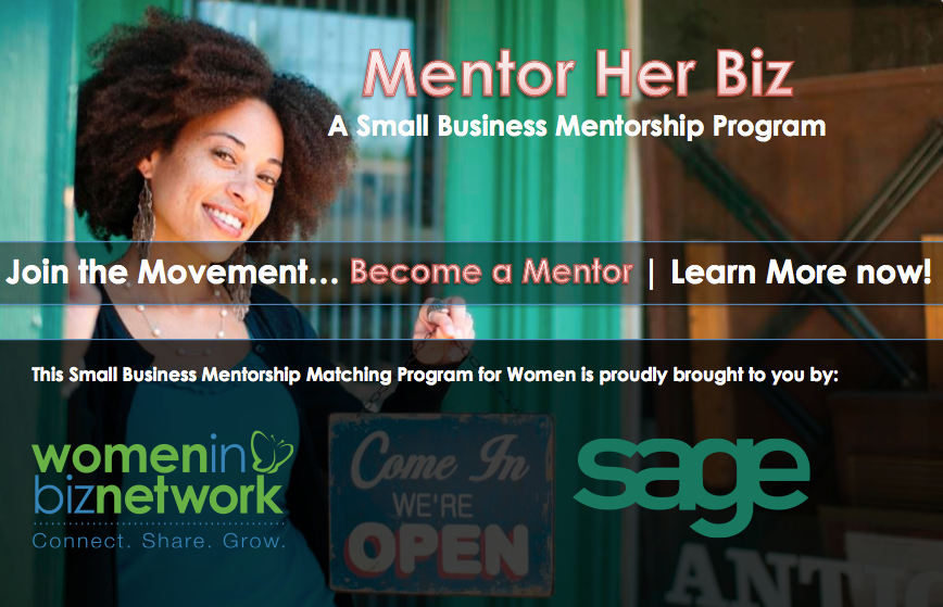 Announcing Mentor Her Biz – Join the movement and become a #WIBN Mentor