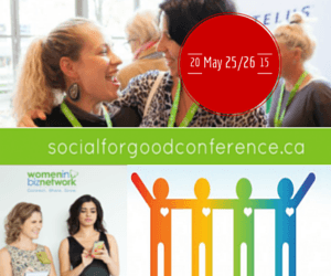 Deadline for #socialforgood speaker applications tonight at midnight!