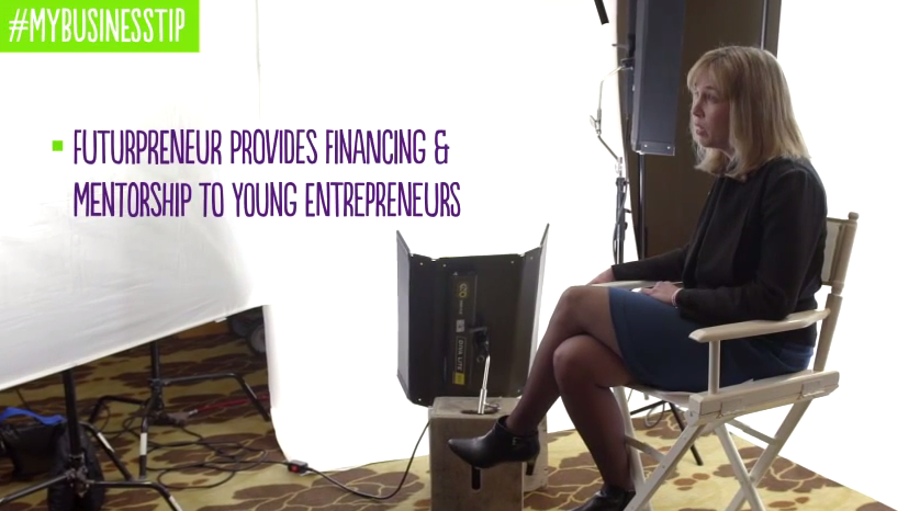 Want to raise even more money for Futurpreneur? Share your #MyBusinessTip via video and @TELUS will donate $100.