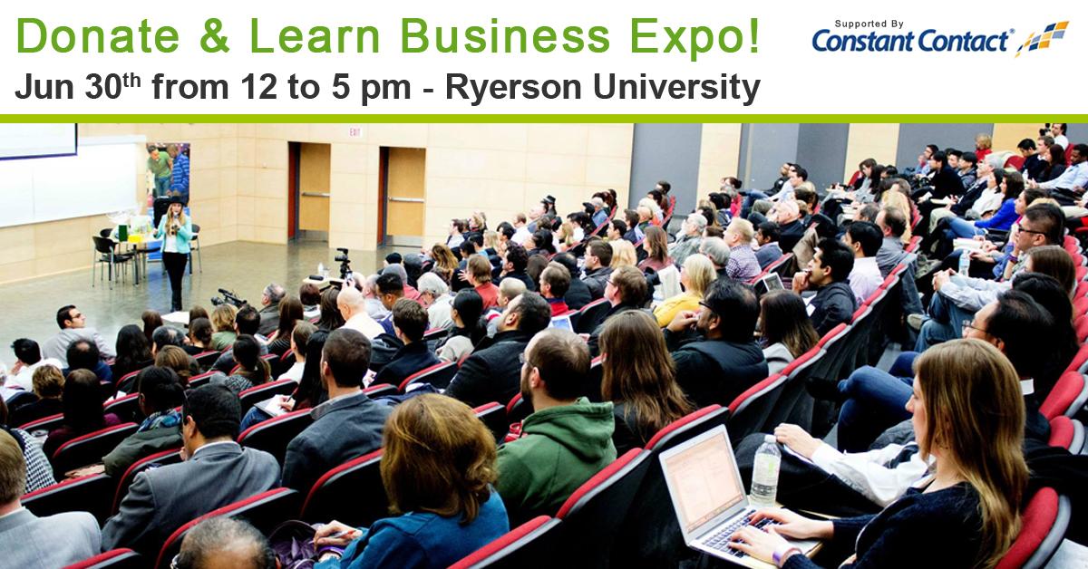 @GreenLotus_CA Donate and Learn Business Expo – June 30 #socialforgood