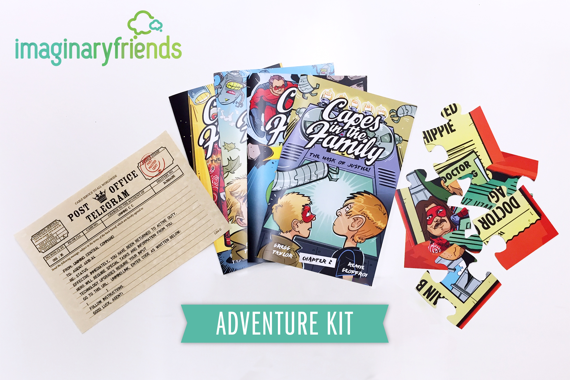 Support a #SocialforGood Entrepreneur – Help Bring #ImaginaryFriends  @IFBooks to Market on #Kickstarter