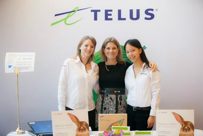 GET AHEAD WITH $100* TOWARDS NEW TELUS SMALL BUSINESS SERVICES