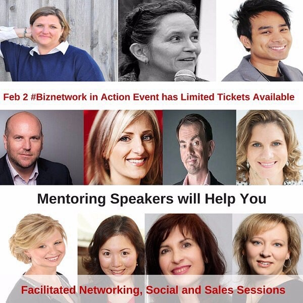 Feb 2   #Toronto Event: Get Connected at #Biznetwork in Action Event with Mentoring Speakers ready to help you